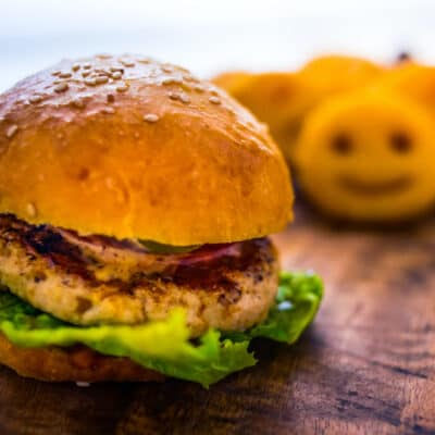 kids chicken burger
